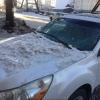 Омич отсудил за упавший на машину снег больше 200 тысяч рублей