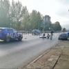 Синий «Лексус» сбил пожилого пешехода в Омске