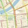 Из-за неработающих светофоров в центре Омска образовалась пробка