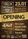 Новый клуб MD House