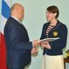 Юбилейными медалями и материальным вознаграждением Виктор Назаров поздравил омских паралимпийцев