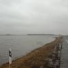 На дороге Омск-Тара образовалась 10-метровая яма