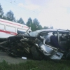 В Омске в районе Телецентра произошло ДТП с участием семи машин