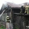 Омские пожарные успели вынести из горящего дома два газовых баллона