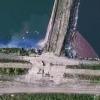 Блогер нашел в промзоне Омска два озера резиновых отходов