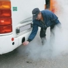 В Омске в рамках операции «Чистый воздух» проверили ПАТП №8