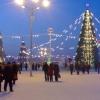 Омская администрация сделала виртуальную карту Нового года