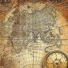 Фотообои с картами мира