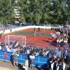 Омской гимназии №26 губернатор вручил сертификат на спортинвентарь