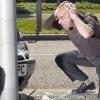 Четыре автомобиля столкнулись под виадуком у Телецентра