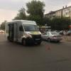 Юную велосипедистку в Омске сбила маршрутка