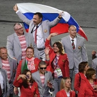Белорусы вышли на открытие Паралимпиады в Рио-де-Жанейро с российским флагом
