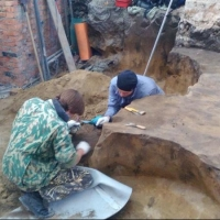 Под Никольским собором в Омске обнаружено захоронение бронзового века