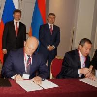 Омская область и Гегаркуникский марз документально зафиксировали свое сотрудничество