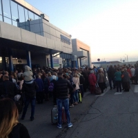 Из-за бесхозной сумки с игрушками из Омского аэропорта эвакуировали 800 человек