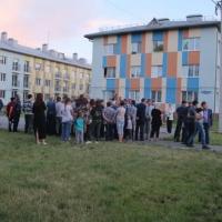 Жители омской «Рябиновки» попросили футбольное поле у Мутко