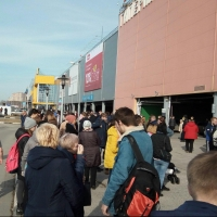 В Омске снова эвакуировали «Мегу»