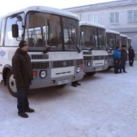 Парк Омскоблавтотранс пополнился пятью новыми автобусами ПАЗ