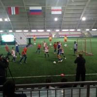 На товарищеском матче в честь открытия футбольной академии Риеры в Омске победила команда Гарсия