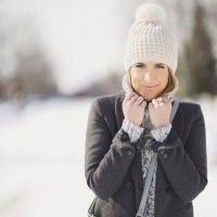 Стильные образы для морозного дня