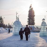 Новогодние каникулы омичи проведут в морозную и солнечную погоду