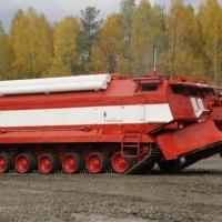 """Пожарный """"танк"""", изготовленный на омском заводе, поступит на вооружение Минобороны РФ"""