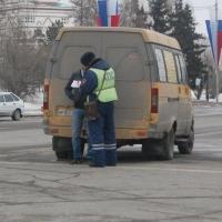 Омские маршрутки сегодня будут останавливать