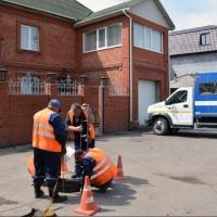 «ОмскВодоканал» отключает от водоснабжения должников