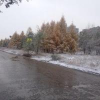 Снег и гололед ожидают омичей на выходных