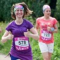 «Золото» Цветочного забега в третий раз завоевала омичка Марина Ковалева