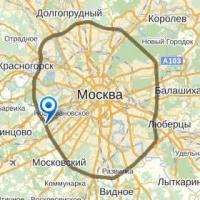 Карта Москвы пригодится вам во время прогулки по столице России!