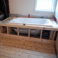 Как собрать каркас акриловой ванны?