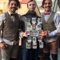 На улицах Омска выступили путешествующие по миру аргентинцы