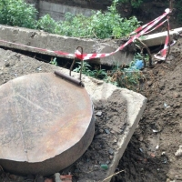 Ремонт трубопровода на улице Щербанёва «ОмскВодоканал» планируют завершить через 7 рабочих дней