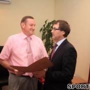 Омский министр спорта назначил фехтовальщика своим заместителем