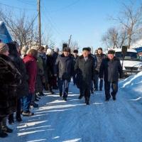 Экс-губернатор Омской области Полежаев прошелся по улице своего имени