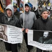 """""""Русский Марш"""" в Омске собрал 50 человек"""