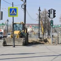 Светофор на улице Броз Тито в Омске не вписался в питерский стиль