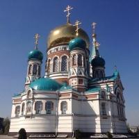 Омская епархия планирует расписать стены Успенского собора