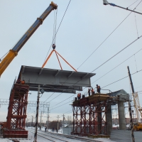Путепровод, соединяющий жилую и промышленную зоны Омска, построят в 2016 году