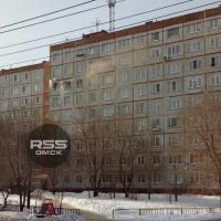 В Омске произошел пожар на седьмом этаже левобережного дома