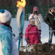 Омичи встретили Паралимпийский огонь