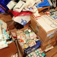 В Омске идёт сбор гуманитарной помощи для жителей Украины
