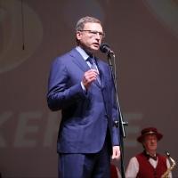 Бурков поздравил Омский духовой оркестр стихами Пушкина