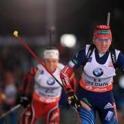 Омская биатлонистка стреляла быстрее всех из российской сборной