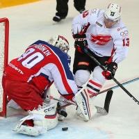 Омский «Авангард» одолел в овертайме «ЦСКА»