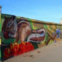 Омичи смогут почувствовать себя граффитистами