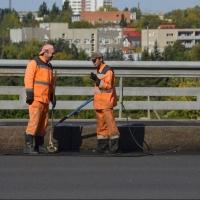 В Омске отмыли 71 километр ограждений