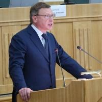 Бурков отчитался о работе правительства Омской области сорванным голосом