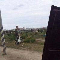В протест против «казачьих» камер омич открыл капот